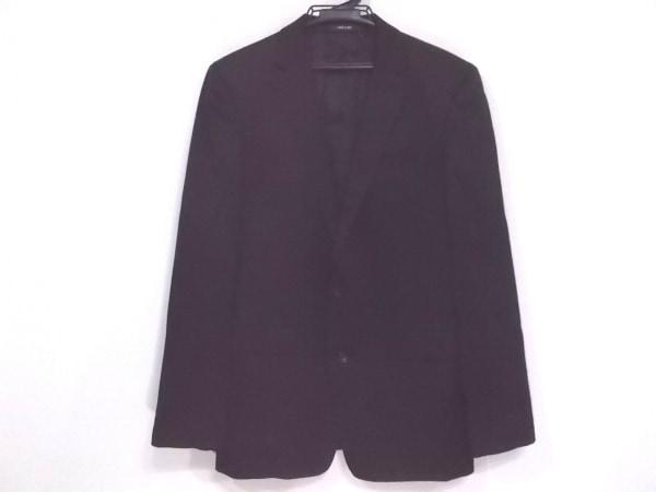 COMME CA MEN(コムサメン) ジャケット サイズ48 XL メンズ 黒 F.LLI CERRUTI
