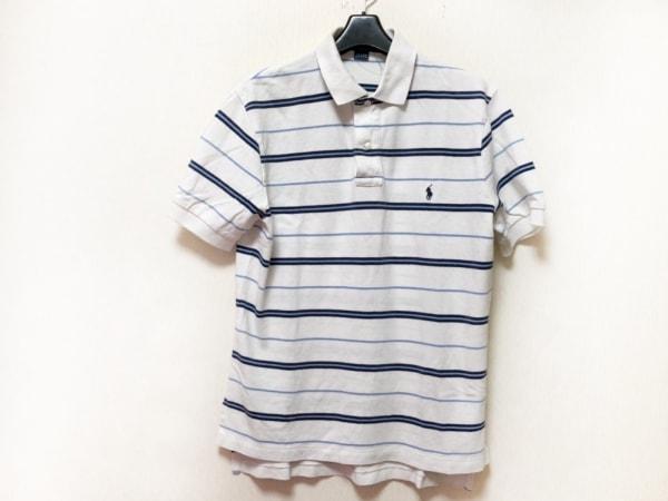 POLObyRalphLauren(ポロラルフローレン) 半袖ポロシャツ サイズM メンズ ボーダー