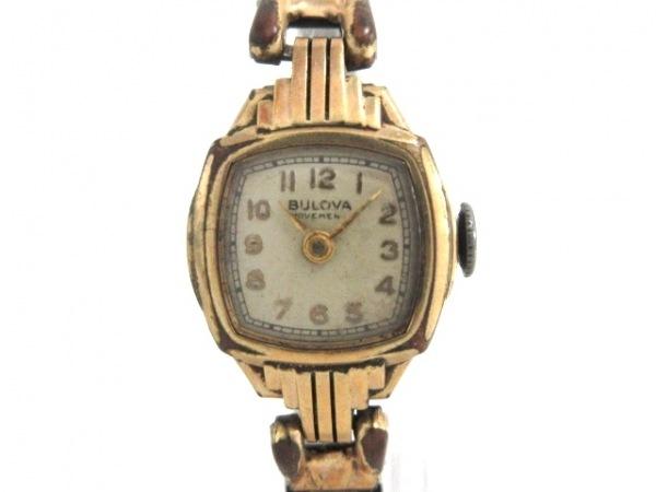 Bulova(ブローバ) 腕時計 - レディース アイボリー