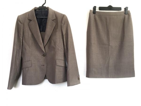 LES MUES(レミュー) スカートスーツ サイズSS XS レディース美品  ダークブラウン