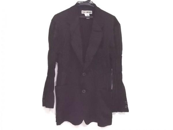 ISSEYMIYAKE(イッセイミヤケ) ジャケット サイズL メンズ 黒