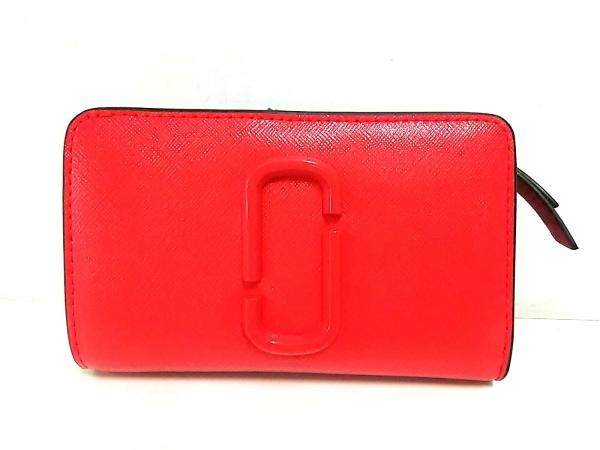 マークジェイコブス 2つ折り財布新品同様  スナップショット コンパクトウォレット