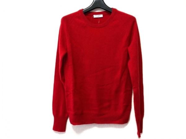 EQUIPMENT(エキプモン) 長袖セーター サイズXS レディース美品  レッド カシミヤ