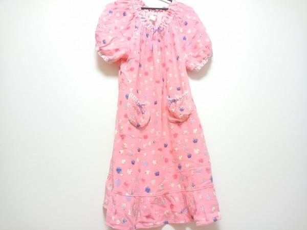 TSUMORI CHISATO(ツモリチサト) ワンピース レディース ピンク×パープル×マルチ