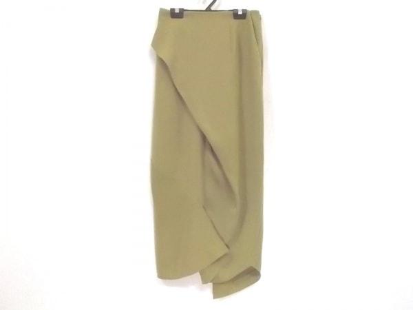 ENFOLD(エンフォルド) ロングスカート サイズ36 S レディース美品  ライトグリーン