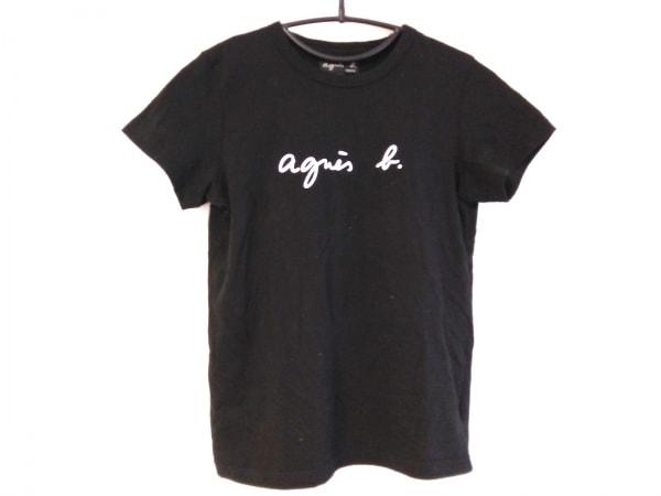 agnes b(アニエスベー) 半袖Tシャツ レディース 黒