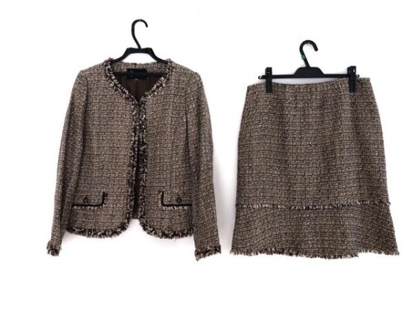 トウキョウソワール スカートスーツ サイズ17 XL レディース美品  ツイード/ラメ
