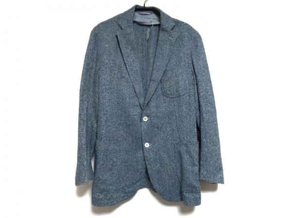 ドレステリア ジャケット サイズ50 メンズ ネイビー×ブルー×ライトブルー