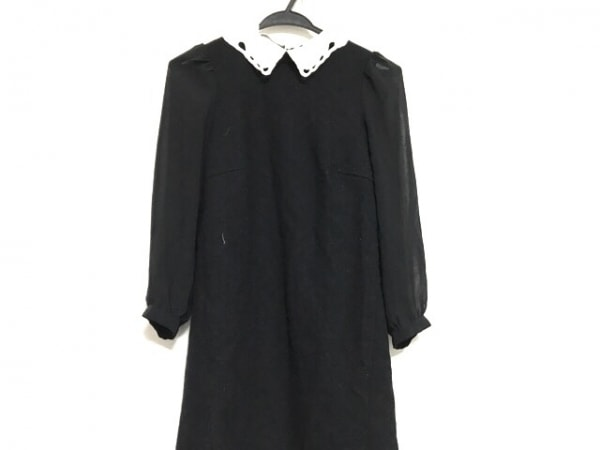 アプワイザーリッシェ ワンピース サイズ1 S レディース美品  黒×白