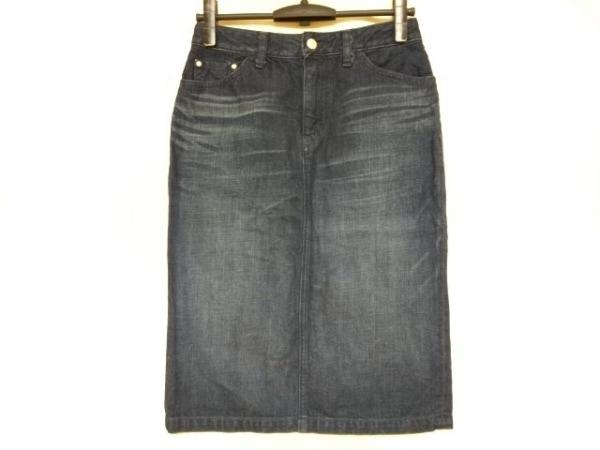 Caqu(サキュウ) スカート サイズ2 M レディース ネイビー デニム