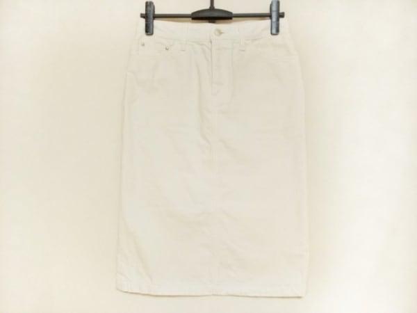 Caqu(サキュウ) スカート サイズ2 M レディース 白 デニム