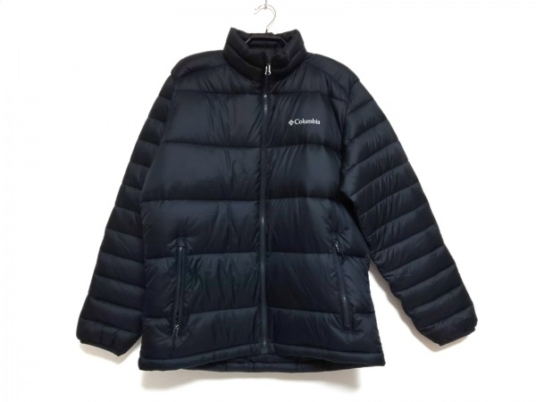 columbia(コロンビア) ダウンジャケット サイズL メンズ美品  黒 冬物