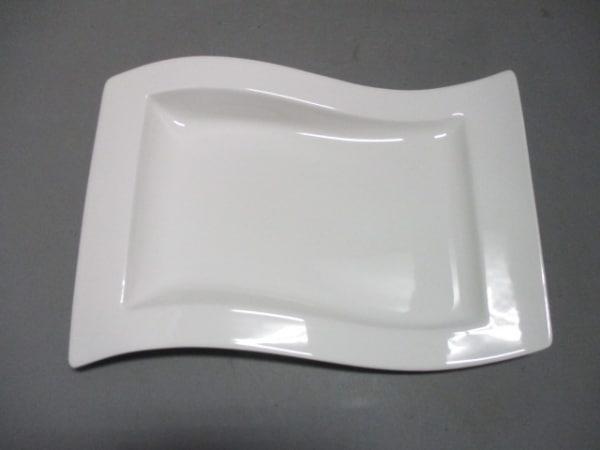Villeroy&Boch(ビレロイ&ボッホ) プレート新品同様  白 陶器