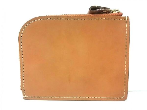 土屋鞄製造所(ツチヤカバンセイゾウショ) 財布 ライトブラウン L字ファスナー レザー