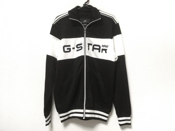 G-STAR RAW(ジースターロゥ) ジャージ サイズS メンズ 黒×白