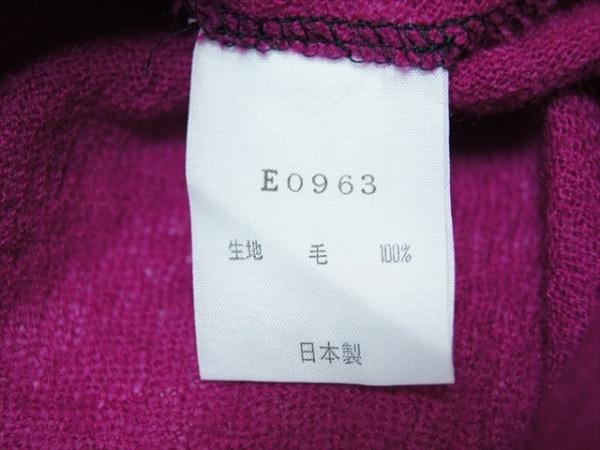 IKUKO(イクコ) ワンピース サイズ2 M レディース美品  ダークグレー×黒×パープル