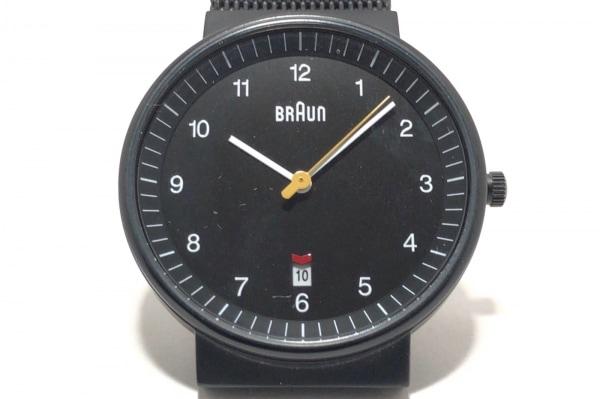 BRAUN(ブラウン) 腕時計 BNH0032BKBKMHG メンズ 黒