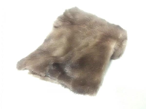 Moon Bat Fur(ムーンバットファー) マフラー ダークブラウン ファー