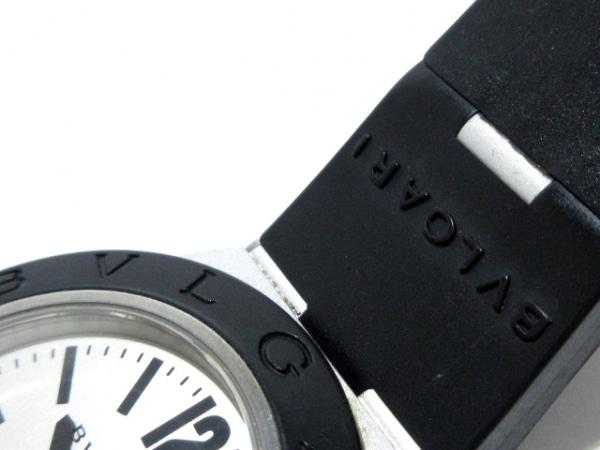 BVLGARI(ブルガリ) 腕時計 アルミニウム AL38TA メンズ 白