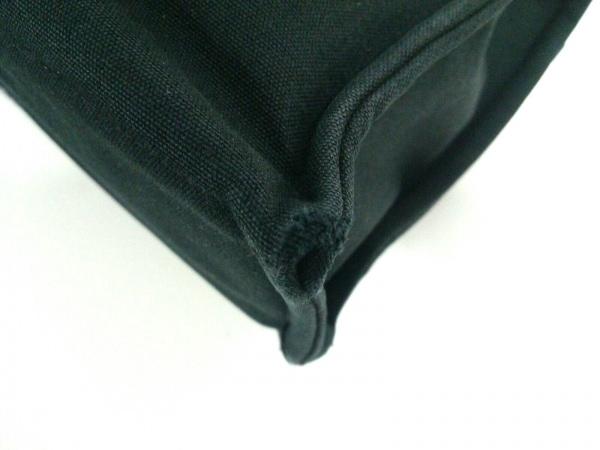 エルメス トートバッグ フールトゥトートMM 黒×グレー キャンバス 7