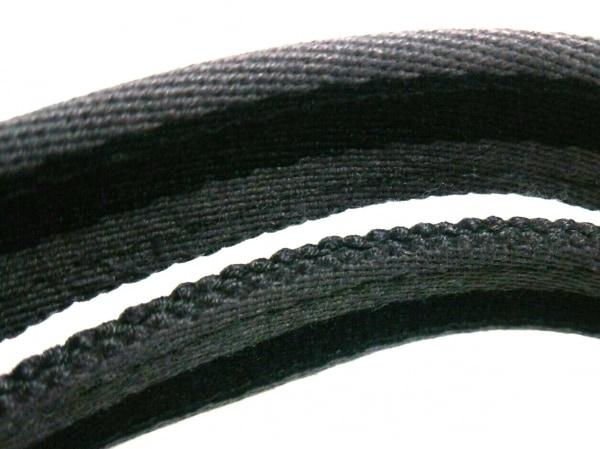 エルメス トートバッグ フールトゥトートMM 黒×グレー キャンバス 8