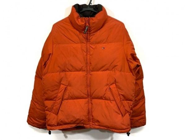 トミーヒルフィガー ダウンジャケット サイズS/P  S メンズ オレンジ 冬物