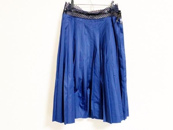 トーガプルラ ロングスカート サイズ36 S レディース美品  プリーツ/メッシュ