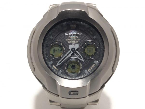 CASIO(カシオ) 腕時計美品  G-SHOCK/TheG GW-1700TDJ メンズ ダークグレー