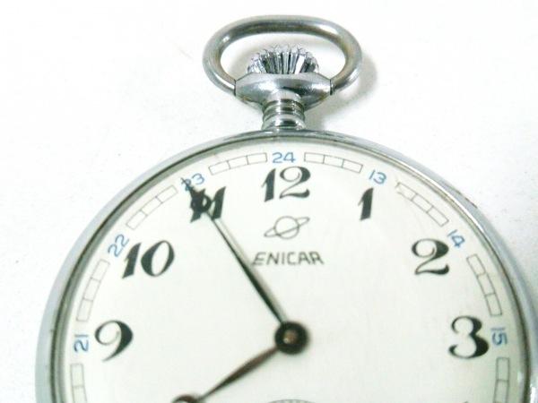 ENICAR(エニカ) 小物 シルバー 懐中時計 金属素材