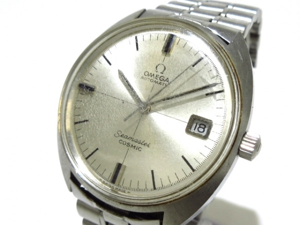 OMEGA(オメガ) 腕時計 シーマスター - メンズ プラ風防 シルバー
