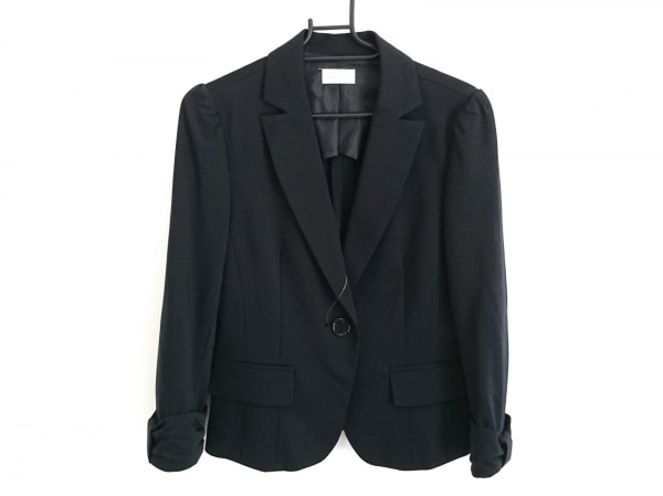 enrecre(アンレクレ) ジャケット サイズ38 M レディース美品  黒