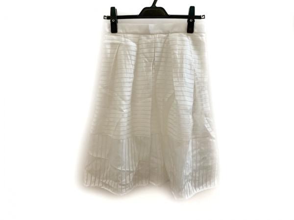 Apuweiser-riche(アプワイザーリッシェ) スカート サイズ2 M レディース美品  白