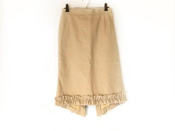 Christian Lacroix(クリスチャンラクロワ) スカート サイズ36 S レディース ベージュ