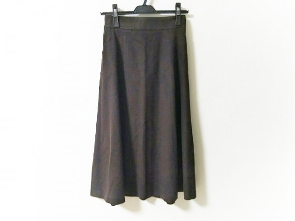 Max Mara(マックスマーラ) スカート サイズ36 S レディース美品  ダークブラウン