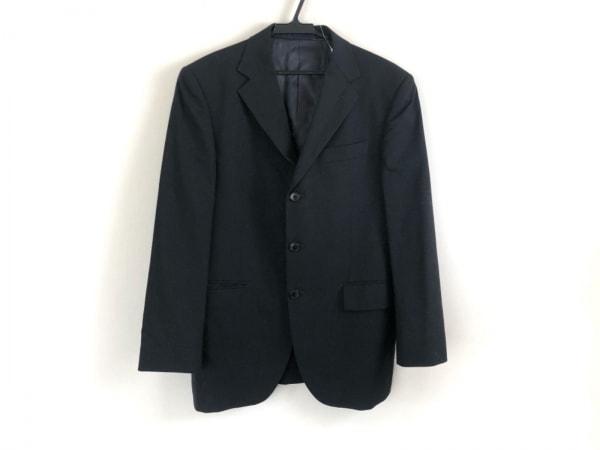 五大陸/gotairiku(ゴタイリク) ジャケット メンズ美品  黒×グレー ストライプ