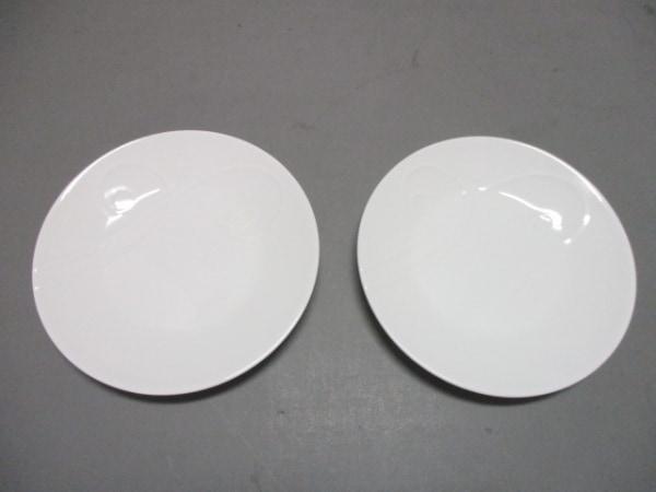 WEDG WOOD(ウェッジウッド) プレート新品同様  ネイチャー 白 プレート×2 陶器