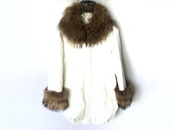 グレースコンチネンタル ダウンコート サイズ36 S レディース美品  白 冬物
