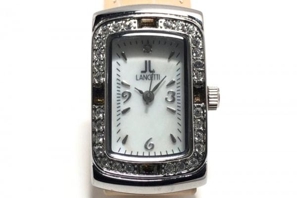 LANCETTI(ランチェッティ) 腕時計 LT-16504 レディース アイボリー