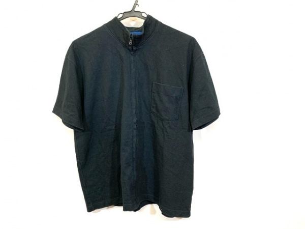 ユナイテッドアローズ ブルゾン サイズL メンズ 黒 BLUE:LABEL/半袖/春・秋物