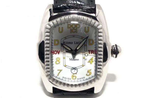 Ritmo Latino(リトモラティーノ) 腕時計 - レディース 革ベルト 白