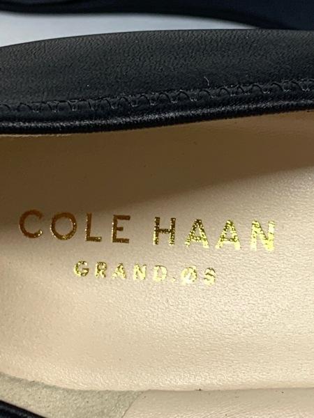 COLE HAAN(コールハーン) パンプス 7.5 レディース 黒 ウェッジソール レザー