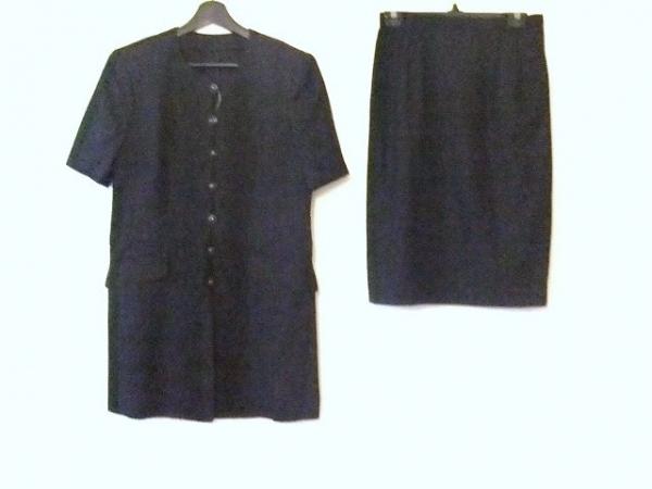ROCHAS(ロシャス) スカートスーツ サイズ11 M レディース ダークグレー ロング丈