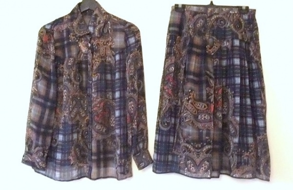 ROCHAS(ロシャス) スカートセットアップ サイズ9 M レディース美品