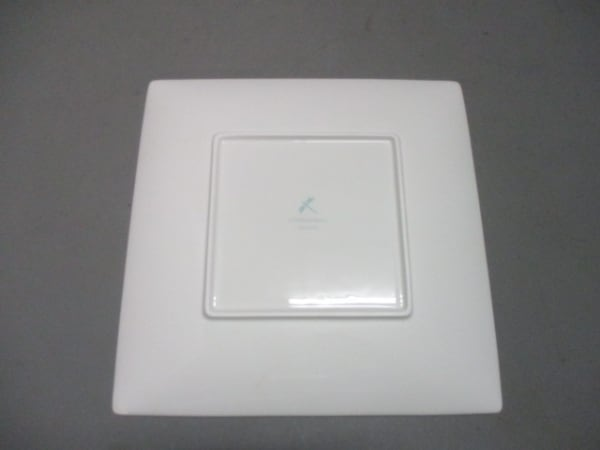 TIFFANY&Co.(ティファニー) プレート新品同様  ブルーボウ ライトブルー×白 陶器