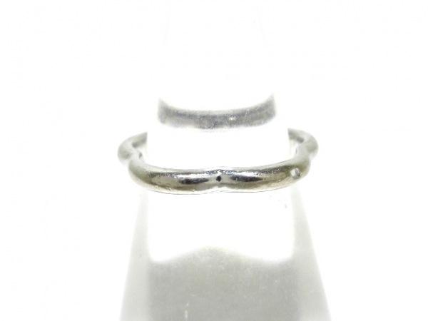 CHANEL(シャネル) リング カメリア コレクション K18WG×ダイヤモンド 1Pダイヤ