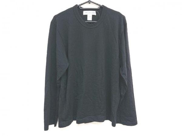 COMMEdesGARCONS SHIRT(コムデギャルソンシャツ) 長袖カットソー サイズS メンズ 黒