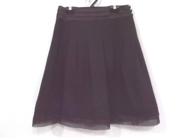 アプワイザーリッシェ スカート サイズ2 M レディース新品同様  ダークブラウン