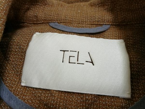 TELA(テラ) ジャケット レディース ブラウン