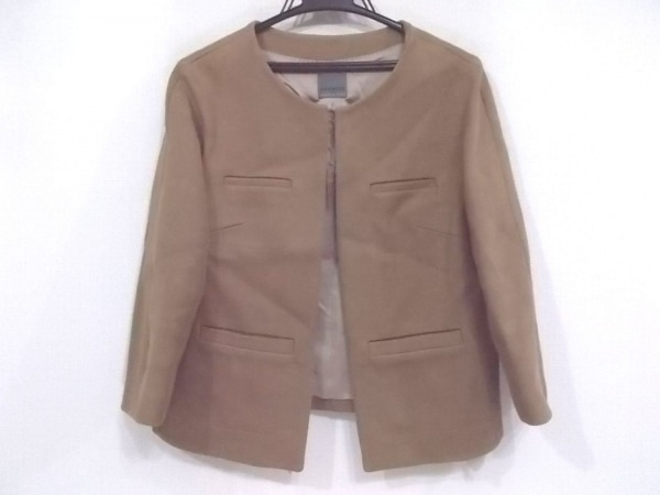 プレミス フォー セオリー リュクス ジャケット サイズ40 M レディース美品  ブラウン