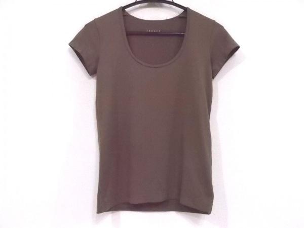 theory(セオリー) 半袖Tシャツ サイズ4 S レディース ブラウン